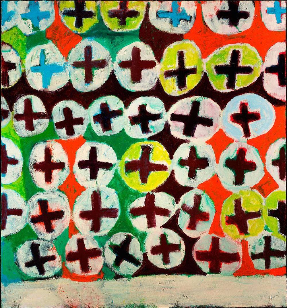 Pattern #44   -  80cm x 130cm,Oil on Canvas