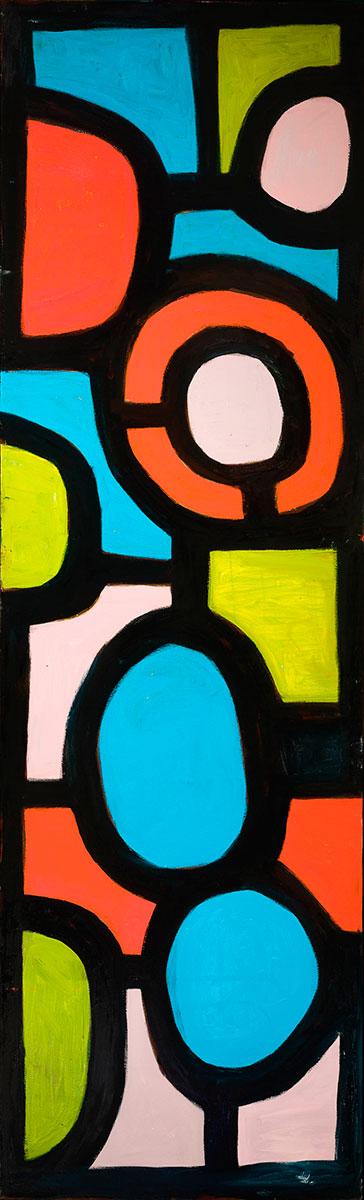 Pattern #46   -  80cm x 130cm,Oil on Canvas