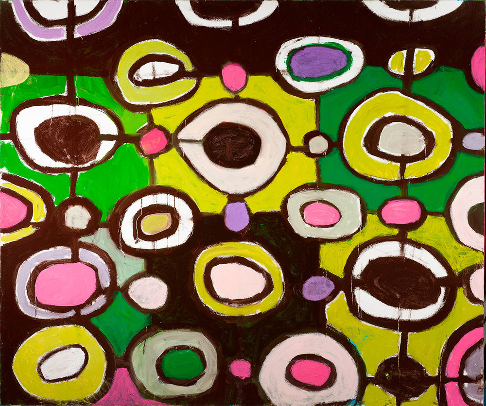 Pattern #49    -   80cm x 130cm, Oil on Canvas