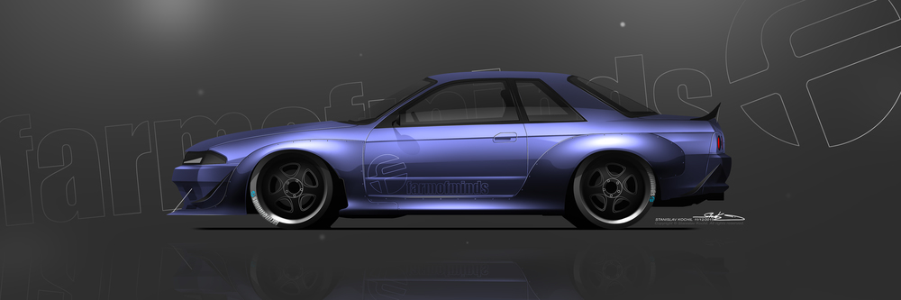FOM R32 GTR Wide Body, Vision.