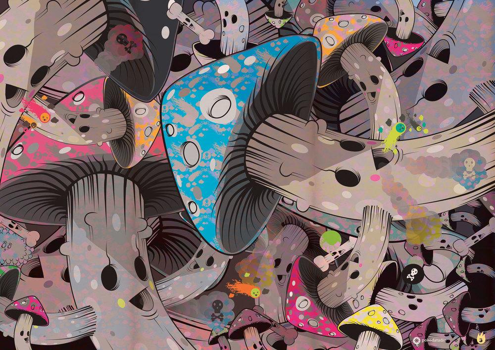 Mushroom Graveyard