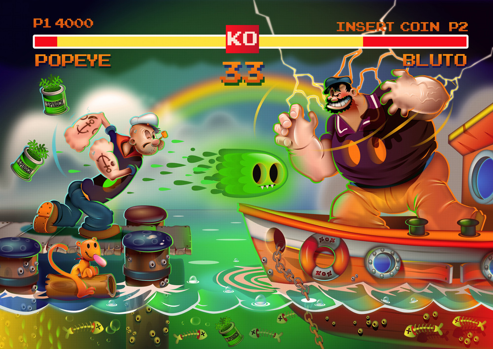 Popeye fighter remix