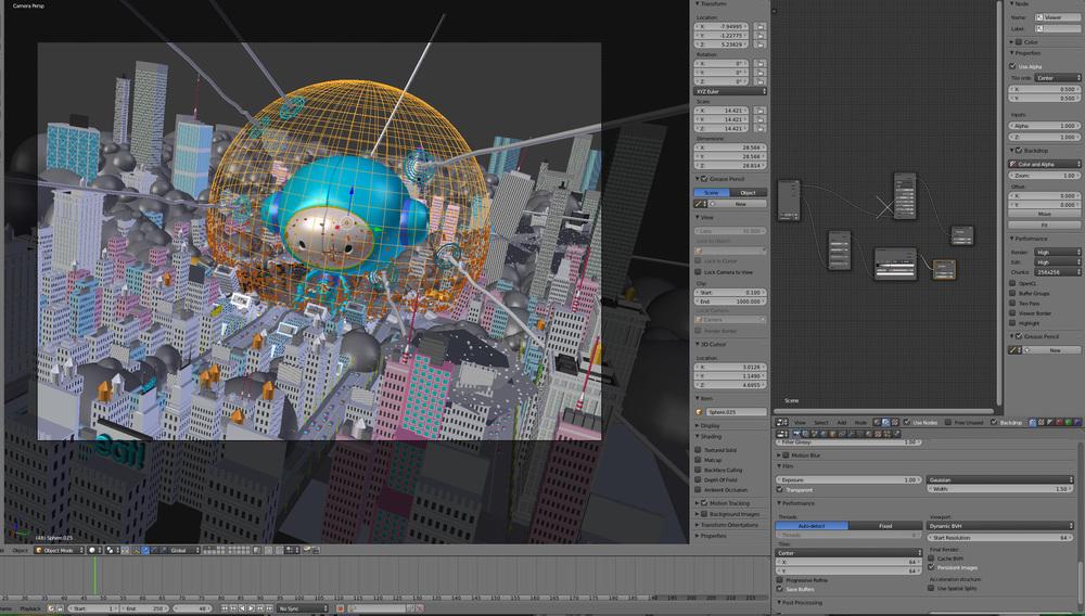 Final 3D models