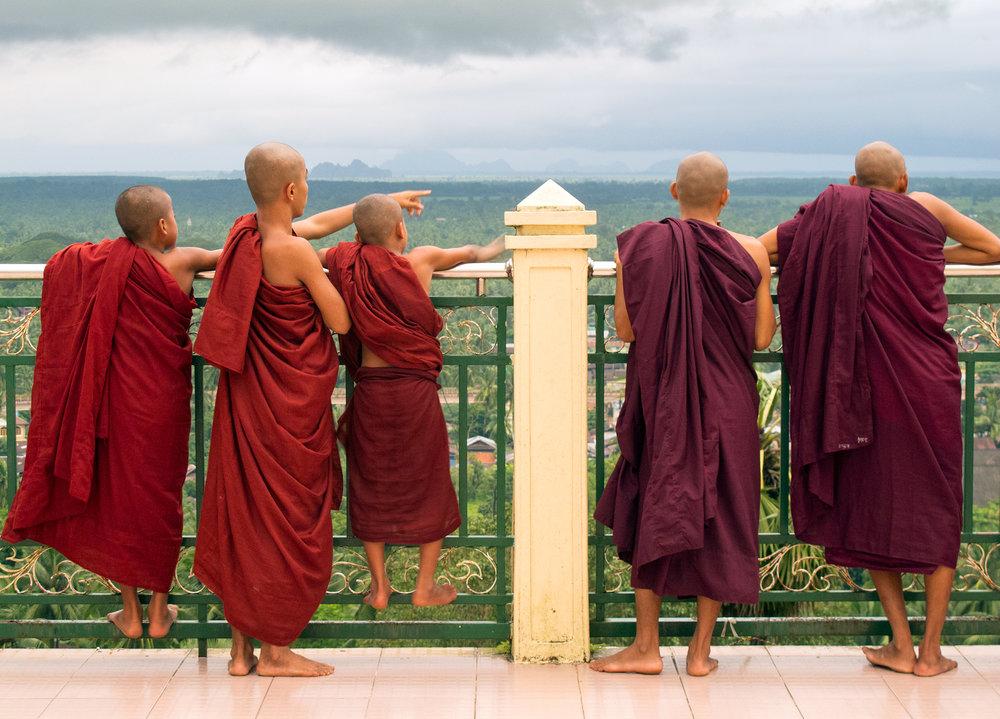 Myanmar Monks - Mawlamyine, Myanmar.jpg