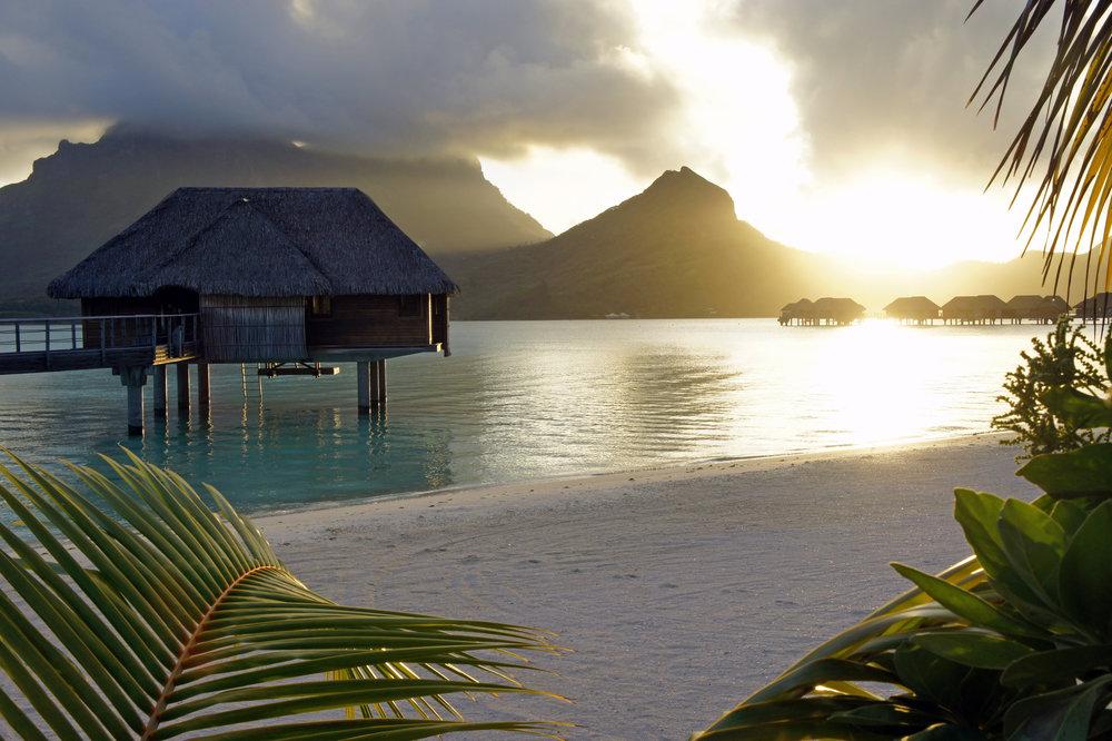 Turquoise Sunset - Bora Bora, French Polynesia.jpg