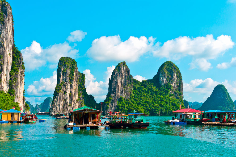 VIETNAM   Astonishingly exotic and utterly compelling, Vietnam is a country of breathtaking natural beauty with an incredible heritage that quickly becomes addictive.