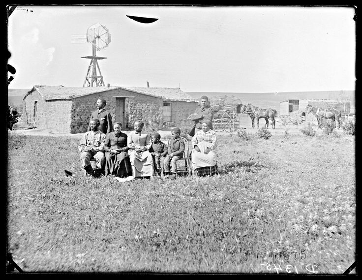 The Mosses Speese familie hebben zich, omstreeks 1850, gesetteld in Nebraska.