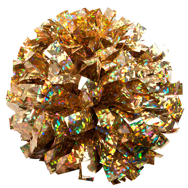 Holographic Crystal-Gold