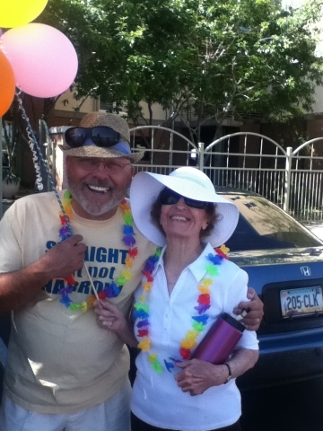 """Straight but not Narrow"" at thePhoenix Gay Pride Parade"
