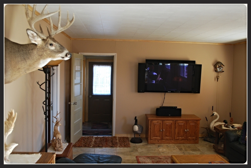 OO Hunting Pheasant Lodge Living Room