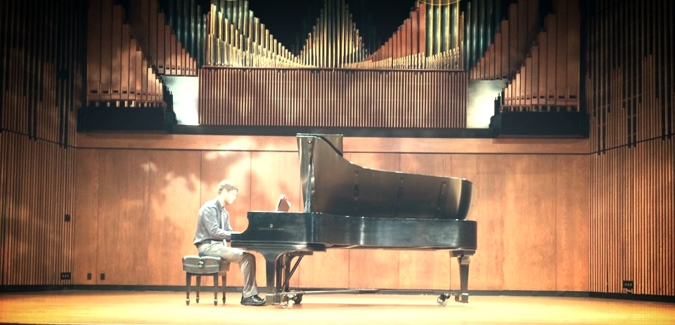 Performance of O'Hara's Pastorale (for M.S.). Turner Recital Hall.Blair School of Music.Vanderbilt University. February 2014.