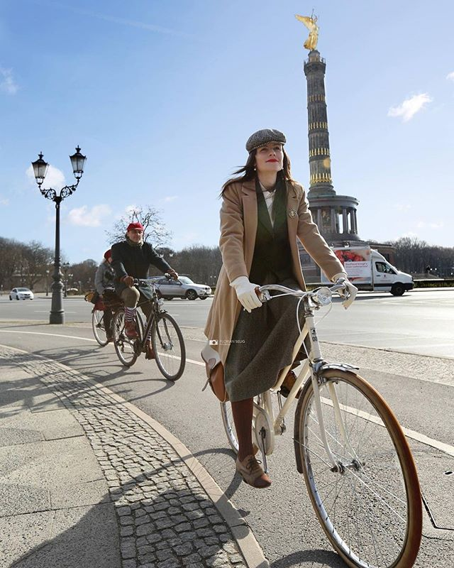 Tweed Day Berlin 2017 #retronia #berlinlife #tweeddayberlin #tweedday #tweed #fahrad #bicyclette