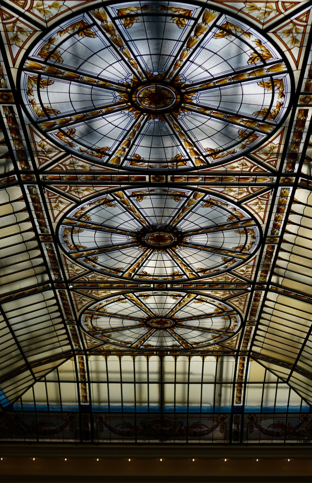 Ceiling of the Belleview Palace lobby