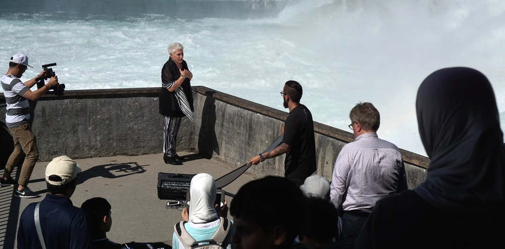 Does anyone know who this woman is? I neeeeed to know when she puts our her epic music video
