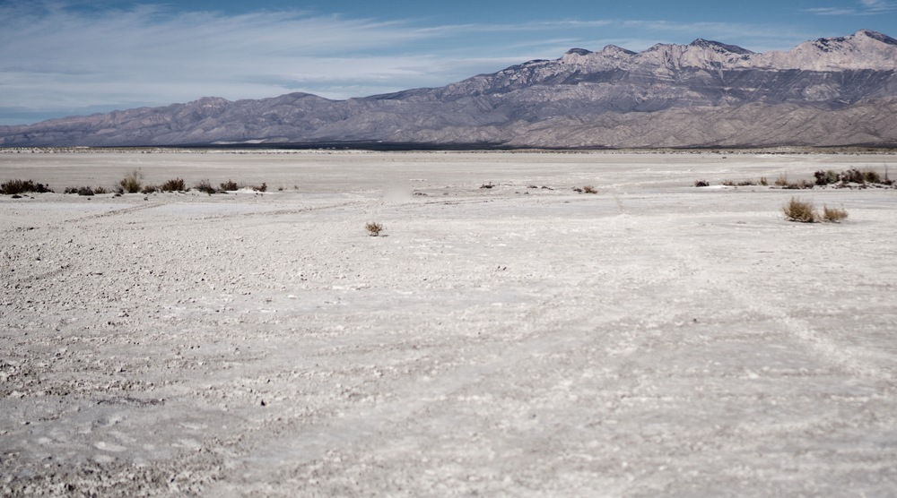 Gypsum Salt Flats