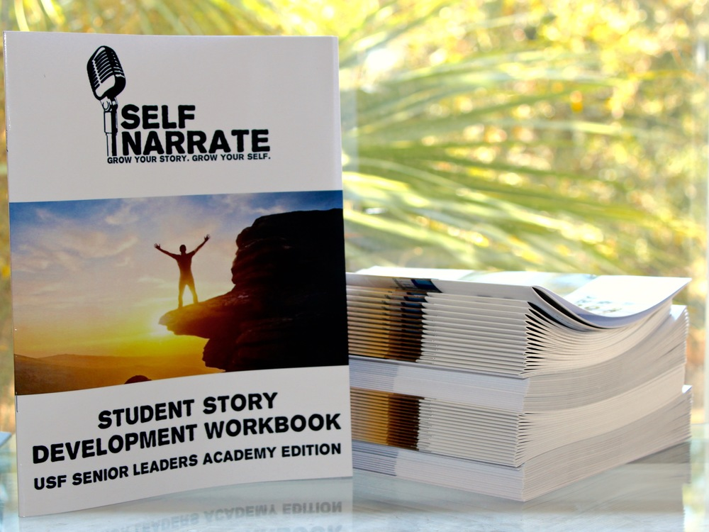 Our packages include a customized story development workbook for your organization!