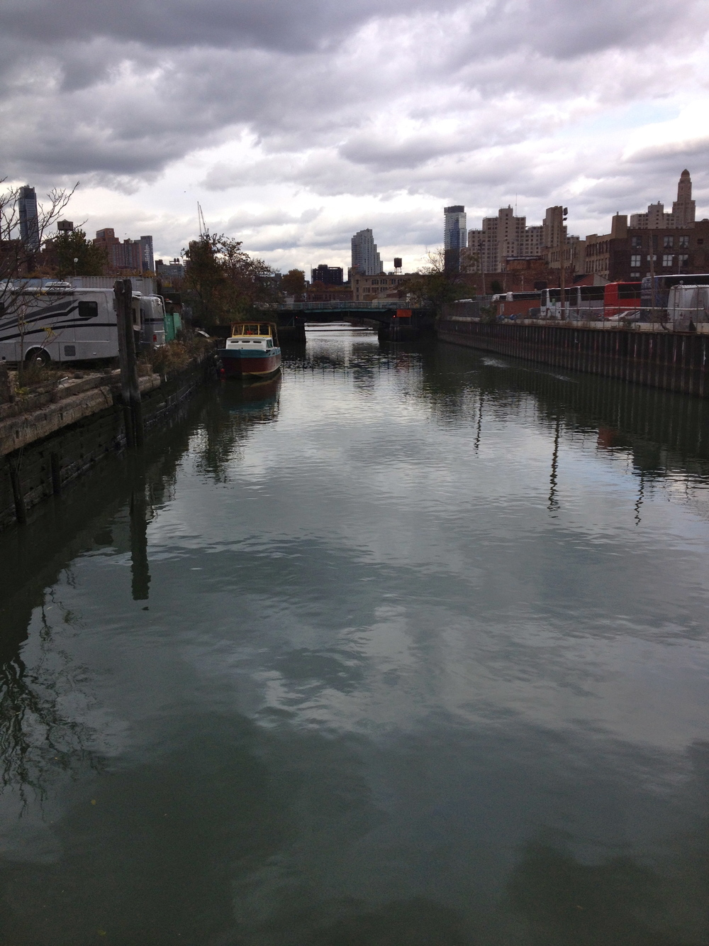 Gowanus Canal field trip - 11/7