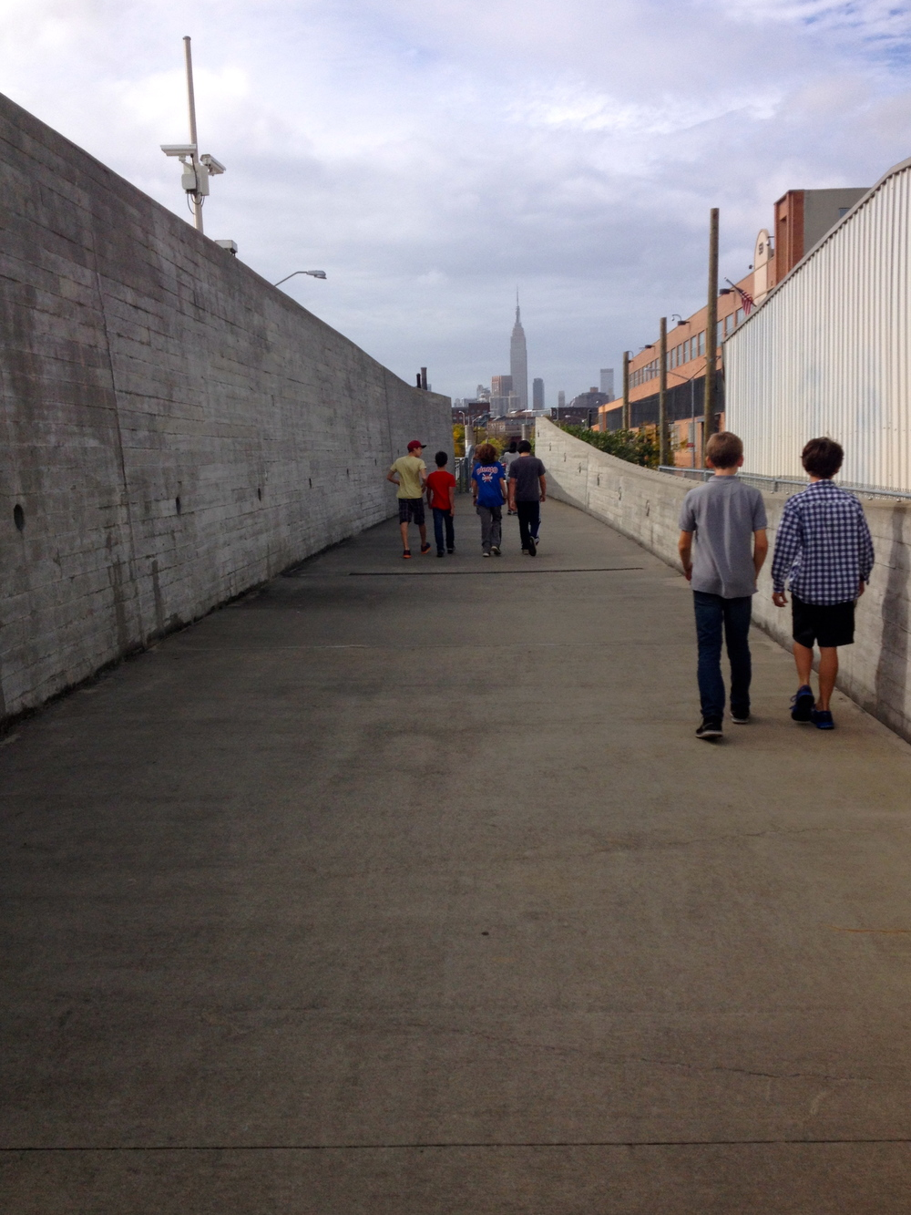 Middle School trip to Newtown Creek - 10/15
