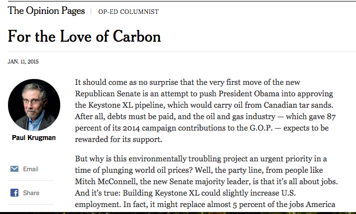 For the Love of Carbon - The New York Times