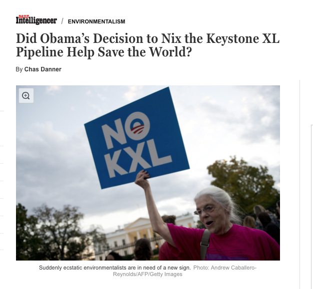 What Obama's Decision to Kill KXL Means