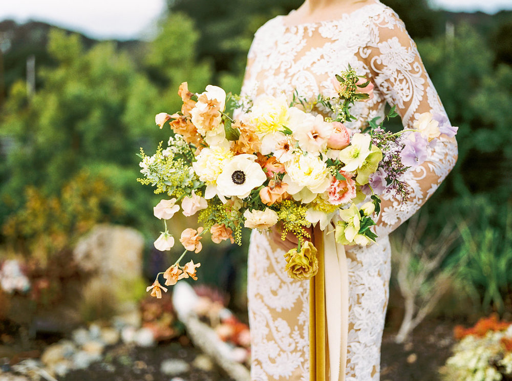 Modern Glam Garden Wedding Inspiration Photoshoot - Olivia Richards Photography