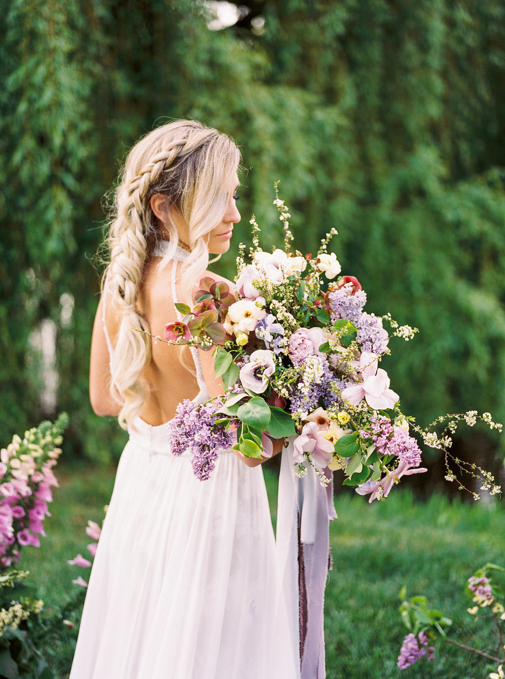 Ultraviolet Styled Shoot - Olivia Richards Photography