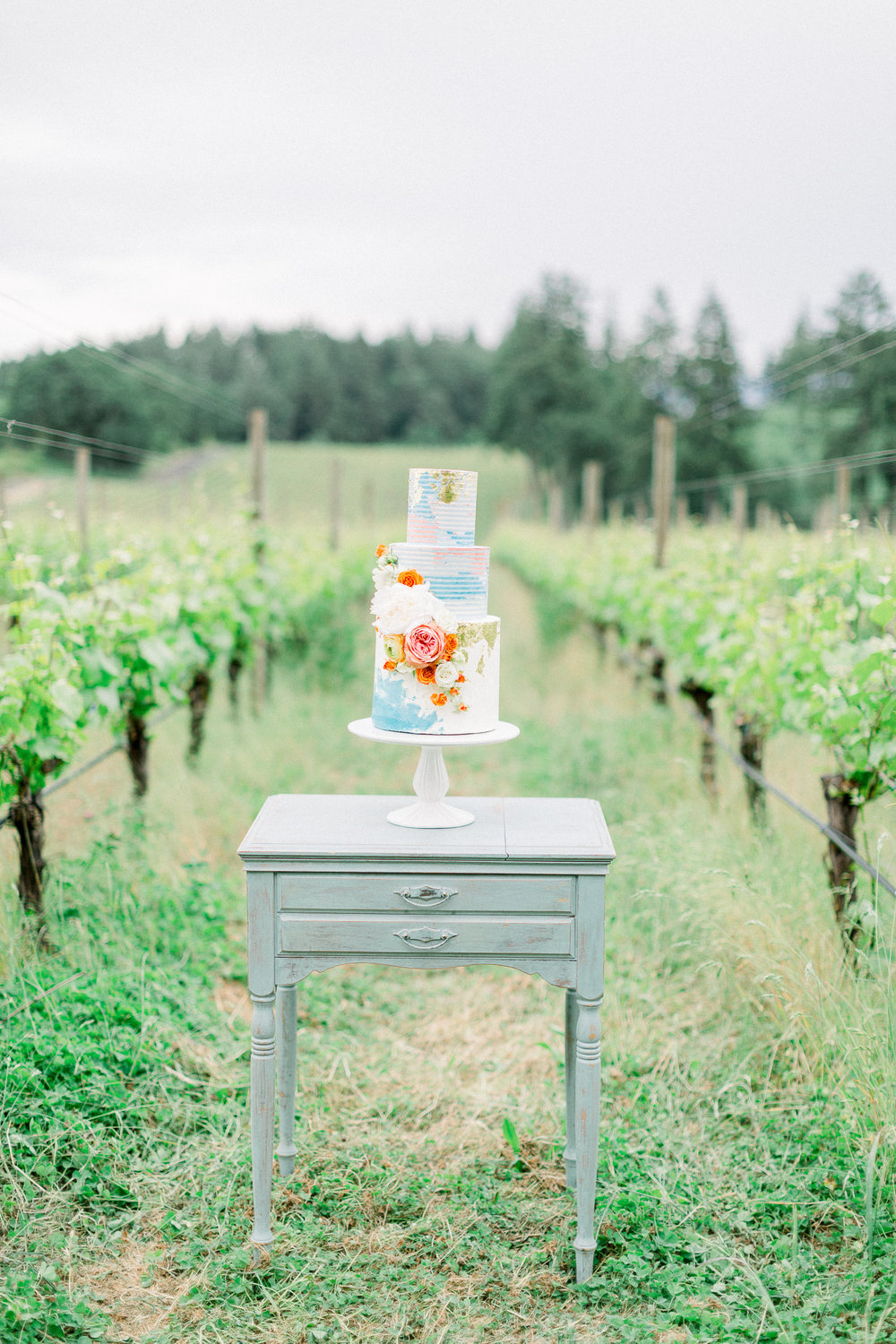 Photo by: Ashley Cook Photography  Cake Design: Lux Sucre Desserts: Weddings