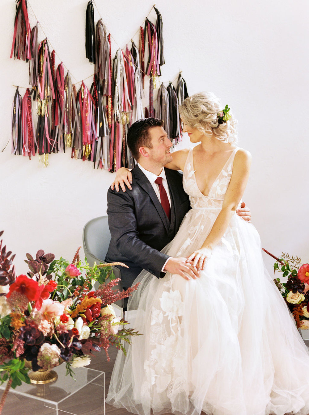 Tassel Garlands for wedding venue decoration