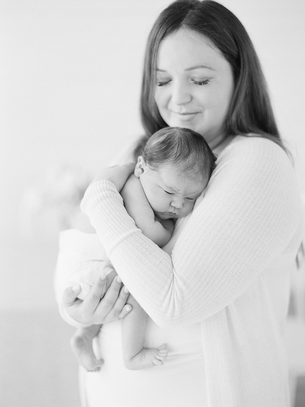 lovely mother and baby photo shoot inspiration