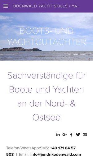 Blog — ODENWALD yacht skills / Yachtgutachter