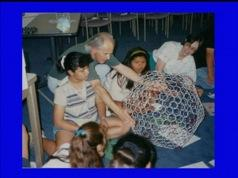 Buckyball Workshop. Image courtesy of Sir Harry Kroto. 2