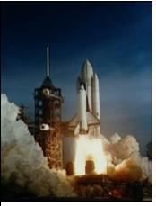 Figure 3. Launch of STS-1, Shuttle Columbia on April 12, 1981. Image courtesy NASA.