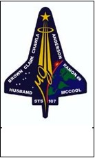Figure 6. Flight patch from STS-107. Image courtesty NASA.
