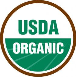 Figure 1. The USDA certified organic logo.
