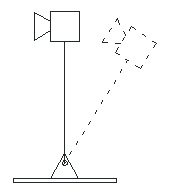 Figure 1. Inverted pendulum system.
