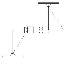 Figure 2. Folded pendulum system.