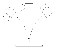 Figure 4. Resonant blade system.