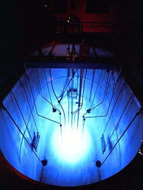 The Reed Research Reactor. Image taken from https://reactor.reed.edu/pictures.html