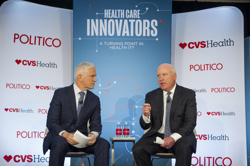 Health Care Innovators Series 2018 - live event photograph by Rod Lamkey Jr.