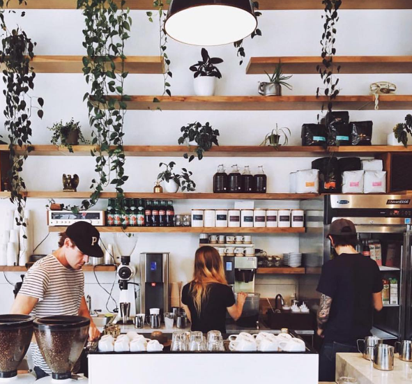 Good Coffee Cafe in Portland, Or. Image provided by sam Purvis.