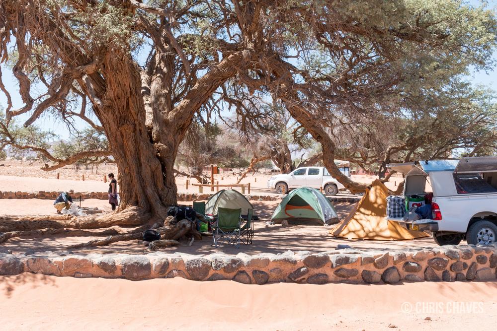 Sesriem Camp Site