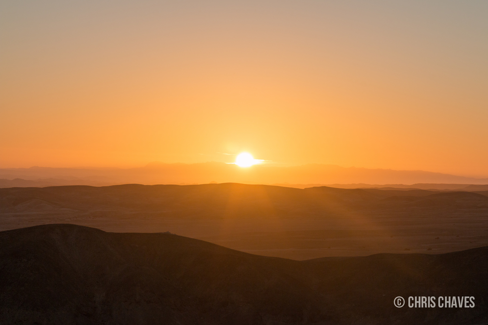 Sunrise over Swakopmund river bed.jpg