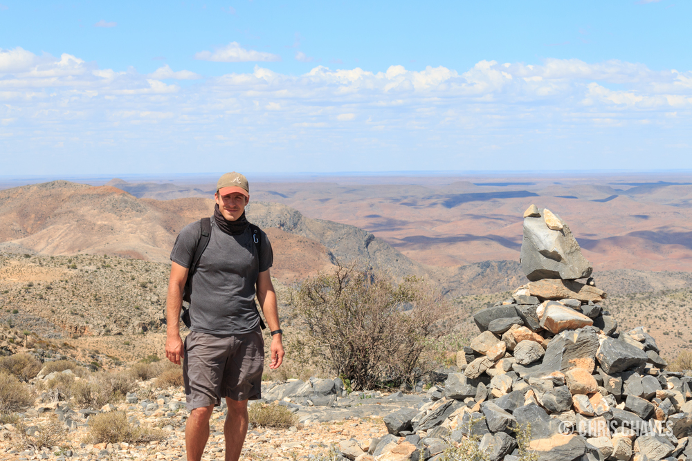 Summit of Waterkloof Trail