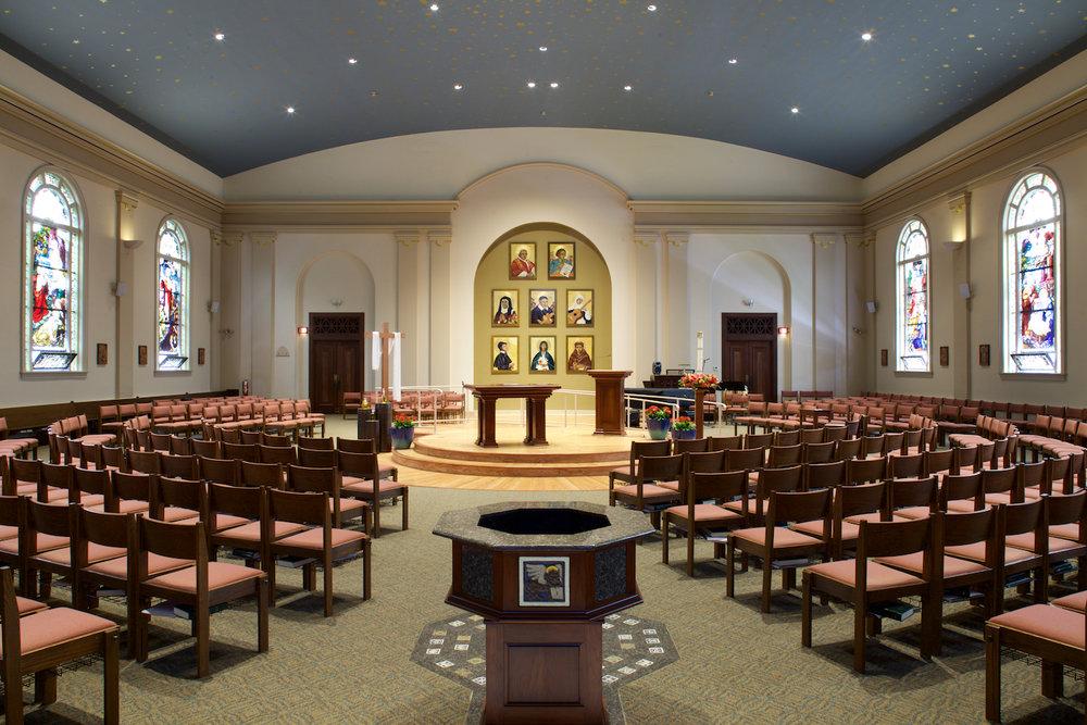 St. Vincent De Paul church, Albany, Icon Commission