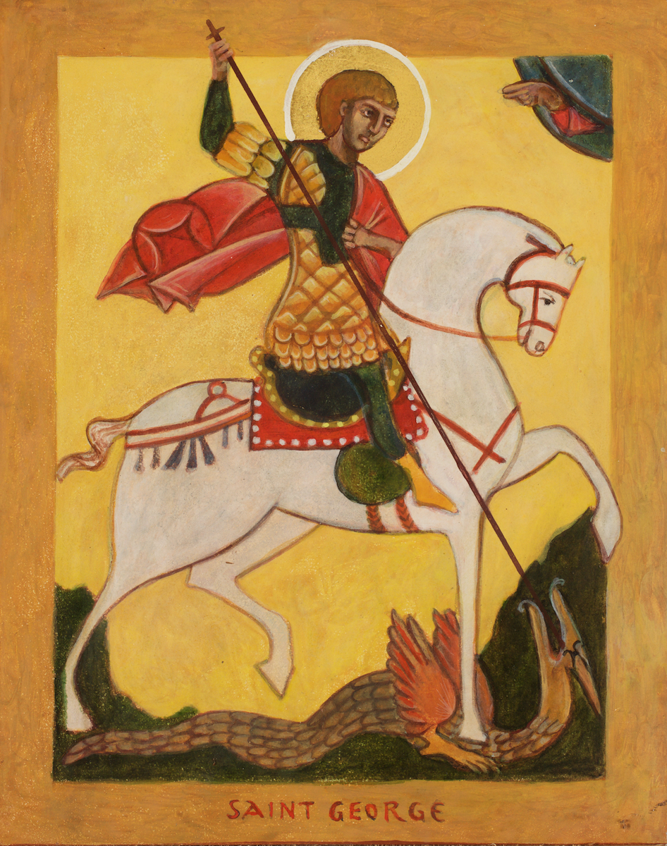 St. George and the Dragon Icon