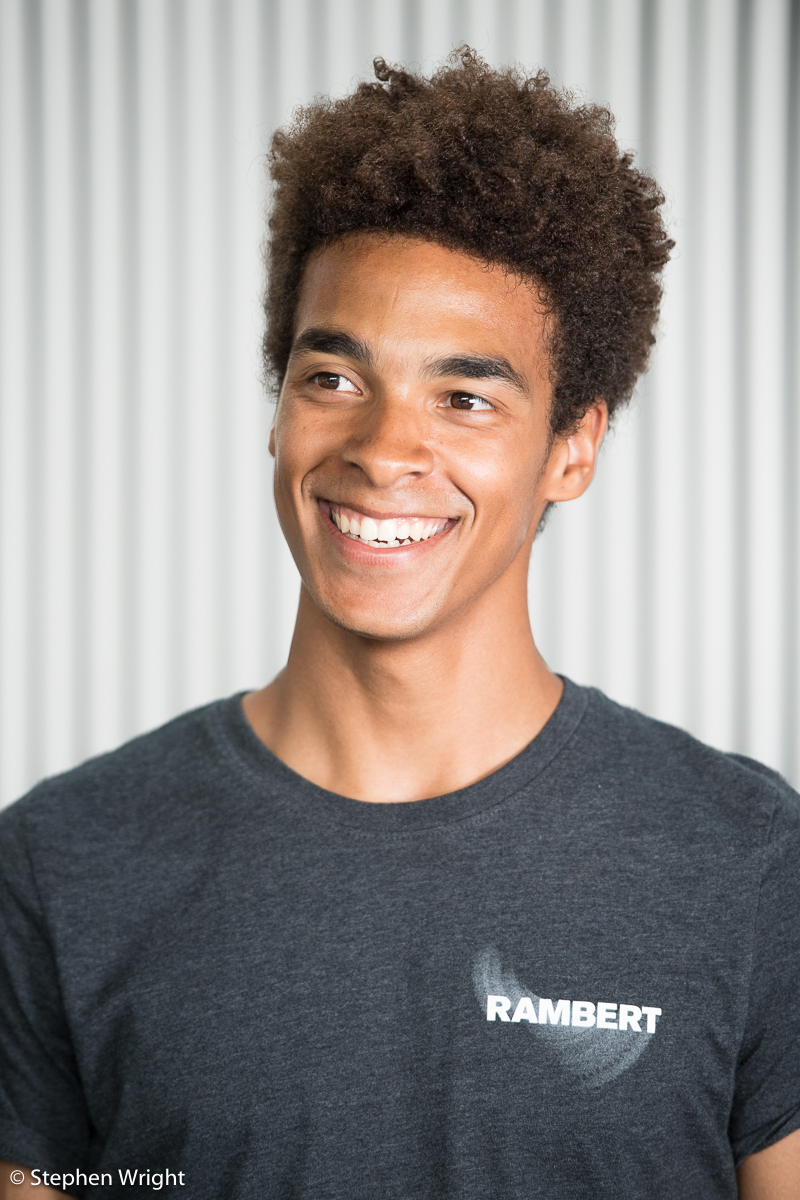 Headshot session with Liam Francis of Rambert company.