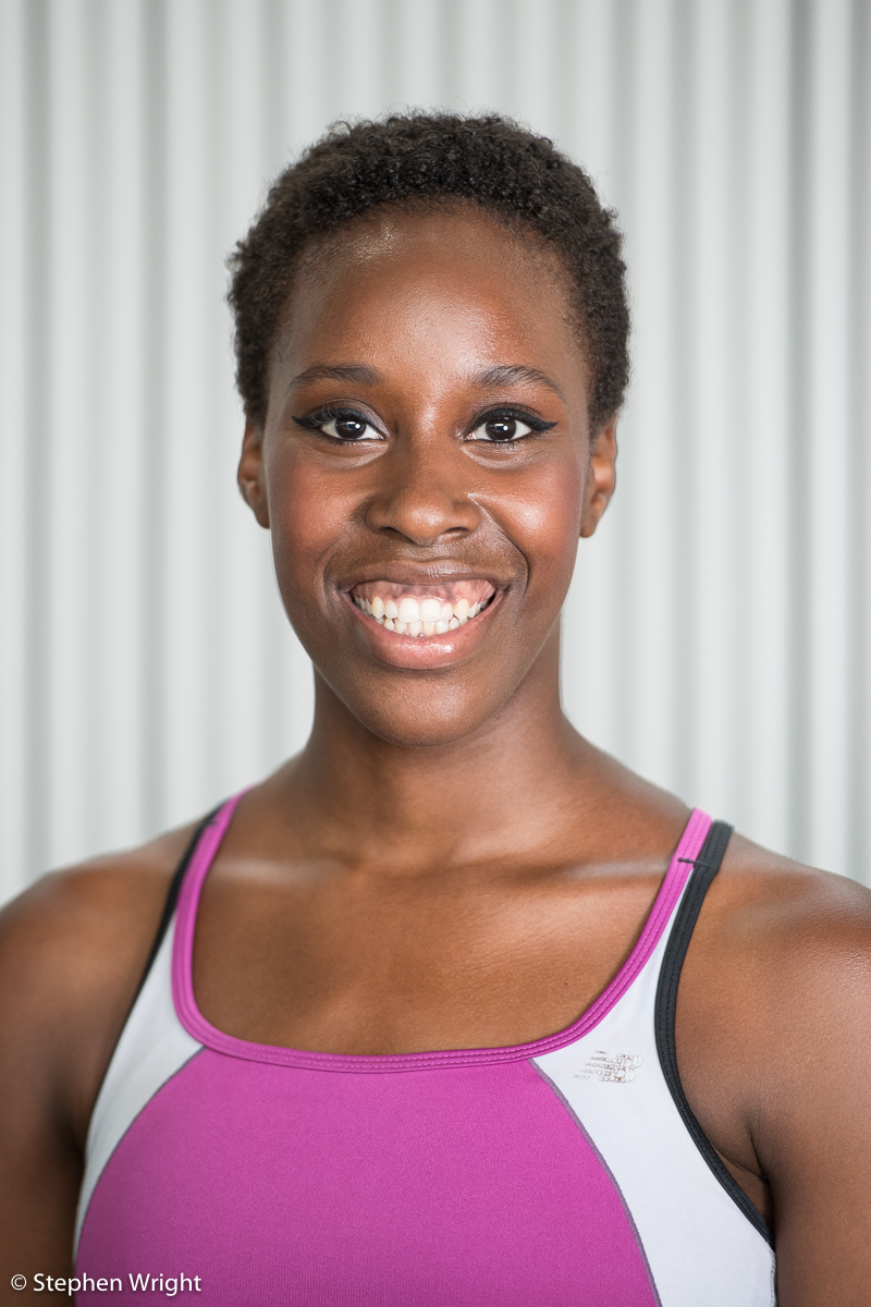 Headshot session with Kym Sojourna of Rambert company.