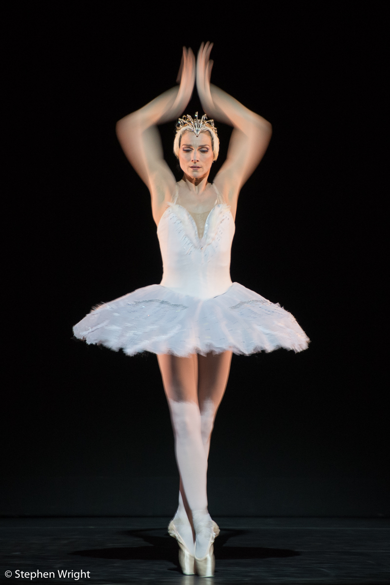 Zenaida Yanowsky  performs  Swan Lake  as part of  Sadler's Wells Sampled.