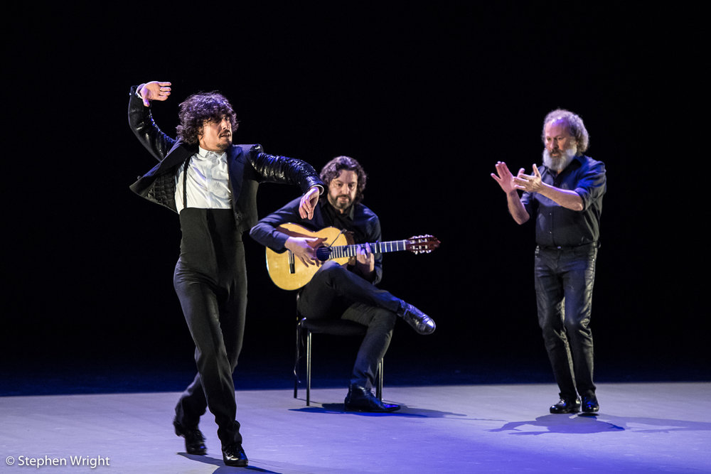 Jesús Carmona  performs as part of  Sadler's Wells Sampled.