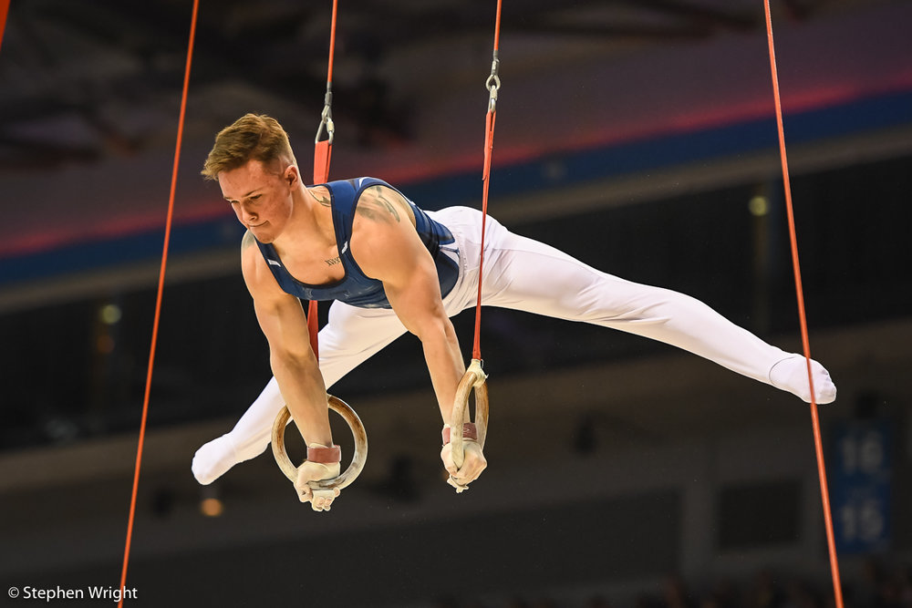 Brinn Bevan  on the Rings.